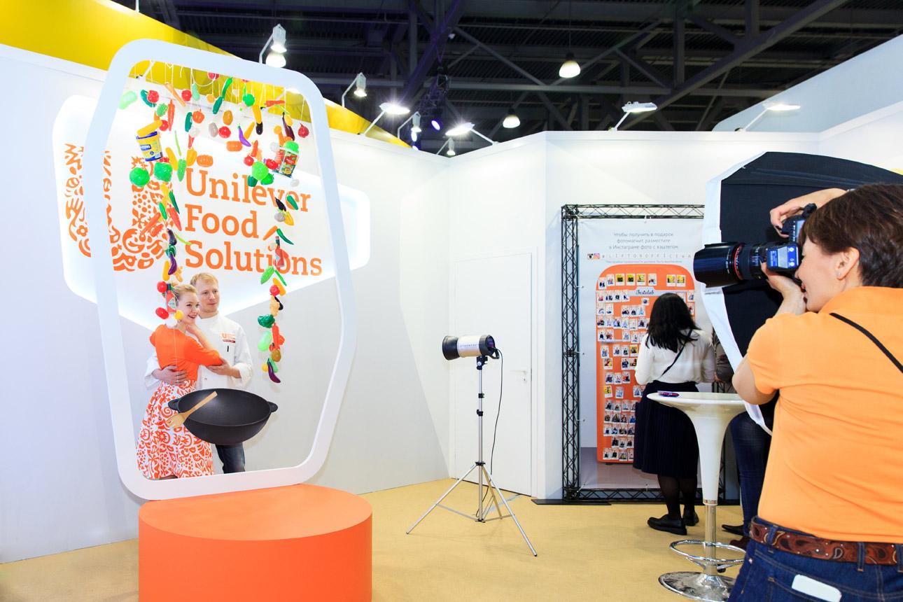 Магниты для Unilever на Metro Expo